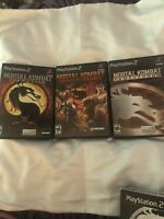 Mortal Kombat Kollection (Sony PlayStation 2 PS2). Complete w/ Box & Manuals