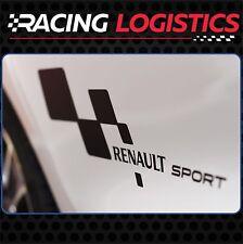 Puerta Renault Sport RS Vinilo Adhesivo Pegatina Clio Twingo Megane Laguna Captu