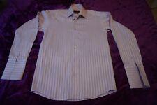 chemise parme lilas à poignets mousquetaires taille S (37/38) GIACOMO