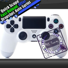 PS4 modded rapid fire controller Glacial White BF4 COD GHOST AW BLACK OPS 3