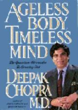 Deepak Chopra Ageless Body Timeless Mind Meditation Book