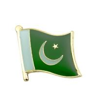 PAKISTAN FLAG Enamel Pin Badge Lapel Brooch Fashion Gift PN54