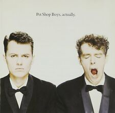 Pet Shop Boys - Actually / EMI RECORDS CD 1987 (Made in Germany)