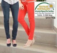 Treggins Damen Jeans Hose Stretch Cotton/Elasthan Dehnbund enganliegend Öko Tex