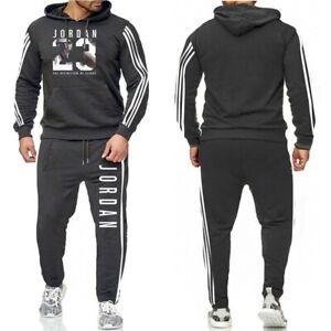 NEW Hot Men's Michael Jordan 23 Set Hoodie Pants Tracksuit Clothing NEW Fashion