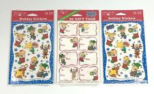 Rugrats Nickalodeon Christmas Holiday Stickers American Greetings Lot of 3 New