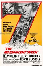 Magnificent Seven R1980 International one-sheet movie poster