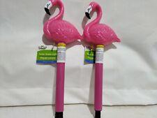 Pink Flamingo Solar Outdoor Landscape Garden Stake Lamps Yard Path Lights