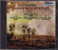 Laszlo LAJTHA Flute Trio Sonate en Concert ISTVAN MATUZ JENO JANDO CD Hungaroton