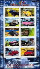 Bloc Feuillet BF30 - Collection jeunesse - Voitures anciennes - 2000