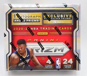 2020/21 Panini Prizm NBA Basketball 24-PACK Retail Box - 1 Auto Each Box