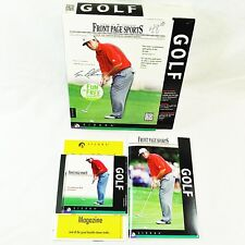 Sierra - Front Page Sports Golf  PC 1997 - Used Complete Big Box - Windows 95