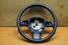 Org Audi A6 4F Volante sportivo multifunzione In pelle traforata anima nero