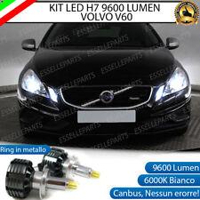 KIT LED H7 CANBUS VOLVO V60 CON LED 9600 LUMEN 6000K ANABBAGLIANTI