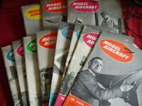 JOB LOT X 15 VINTAGE MODEL AIRCRAFT MAGAZINES 1952 THROUGH 2 1965 AEROMODELLER