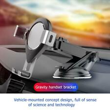 Gravity Car Mobile Phone Holder Adjustable Suction Cup Vehicle GPS Mount Support
