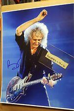 Brian May Signed Queen Autograph COA