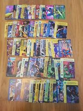 RANDOM LOT OF 50 MARVEL, DC, & IMAGE OVERPOWER CARDS W/ SEVERAL RARES - LOT # 8
