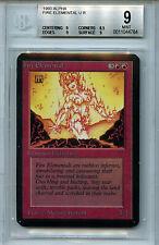 MTG Alpha Fire Elemental BGS 9.0 (9) Mint Magic CardAmricons  4784