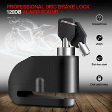7mm Motorbike Motorcycle Wheel Disc Brake Lock Security Anti-thief Alarm 120dB
