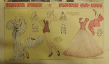 Brenda Starr Sunday with Large Uncut Paper Dolls from 1/18/1942 Full Size Page