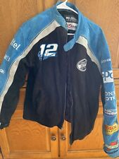 Leather Men's M Suede Jacket Nascar Nextel Cup Series Needs Cleaning