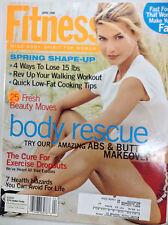 Fitness Magazine Body Rescue Your Abs & Butt Makeover April 1998 080917nonr