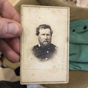 Rare 1860's Civil War CDV Photo Of General John Palmer