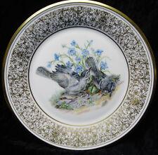 "Boehm Birds Lenox Porcelain Limtd. Ed. Mockingbirds 10 3/4"" Plate 1978 Nos"