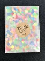 Biodegradable WEDDING CONFETTI Rainbow Paper Confetti Packets Bags Flutter Fall