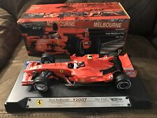 1/18 Limited Edition F1 FERRARI KIMI RAIKKONEN F2007 HAT-TRICK Melbourne 18/4/07
