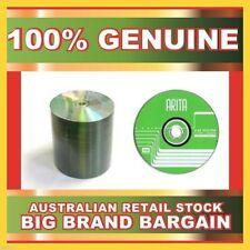 100 x ARITA BLANK 2.4X speed DVD+RW Discs 4.7GB Re-Writable Burner New Sealed