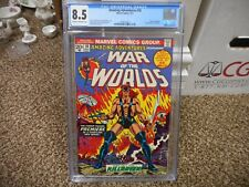 Amazing Adventures 18 cgc 8.5 1st appearance of Killraven War the Worlds 1975
