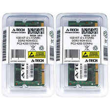 1GB KIT 2 x 512MB SODIMM DDR2 NON-ECC PC2-4200 533MHz 533 MHz DDR-2 Ram Memory