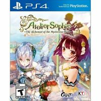 Atelier Sophie: The Alchemist of the Mysterious Book PS4 NEW FREE SHIPPING
