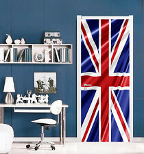 3D British Flag 40 Door Wall Mural Photo Wall Sticker Decal Wall AJ WALLPAPER AU