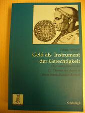Geld als Instrument der Gerechtigkeit (Fabian Wittreck, 2002)