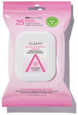 Almay Biodegradable Micellar Makeup Remover Cleansing Towelettes 25 CT (2 PACK)