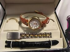 Anne Klein 11 Watch With Changable Faces & Strapes