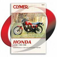 1983-1984 Honda VT500FT ASCOT Repair Manual Clymer M344 Service Shop Garage