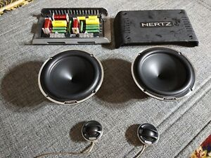 HERTZ MILLE ML1600 2 WAY COMPONENT SPEAKER WITH CROSSOVER FOCAL MB QUART