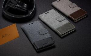 For Xiaomi Note 10 Pro Note 10 9 Retro Canvas Flip Wallet Satnd Phone Case Cover