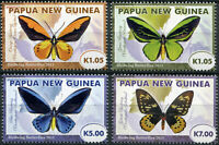 Papua New Guinea 2011 - Birdwing Butterfly - Queen Alexandra - Set MNH **