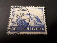 SUISSE 1941, timbre aérien 27, AVION, oblitéré, VF AIRMAIL STAMP, cancelled