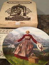 """Sound of Music collectible plate, Coa """"The Sound Of Music� 1st Plate"""