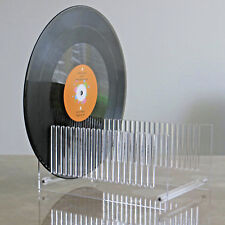 "The LP Record Drying Stand Clear--Acrylic Record Drying Stand - Fit 12"" Albums"