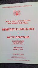 Newcastle United V Blyth Spartans Northumberland Senior Cup Final 95/96
