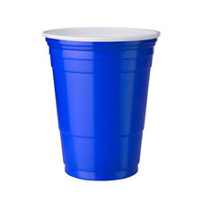 (BOX OF 1000)- 16OZ SOLO BLUE PARTY CUPS