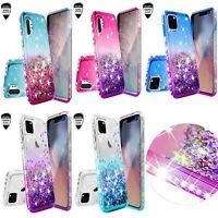 Apple iPhone 11/11 Pro/11 Pro Max Hybrid Liquid Glitter Diamond Bling Case Cover