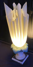 Rare Vintage Georgia Jacobs Handkerchief Lamp Original 1970's Lamp